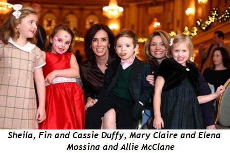 Blog 5 - Sheila, Fin and Cassie Duffy with Mary Claire and Elena Mossina and Allie McClane