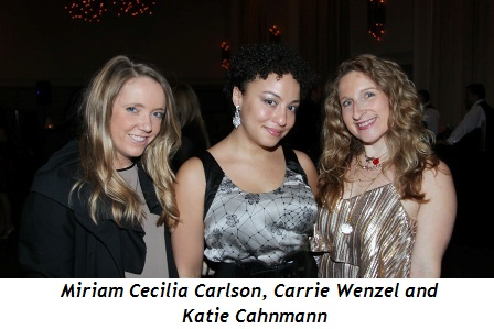 Blog 1 - Miriam Cecilia Carlson, Carrie Wenzel and Katie Cahnmann
