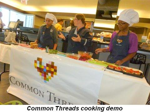 Blog 4 - Common Threads cooking demo at Mariano's Fresh Market