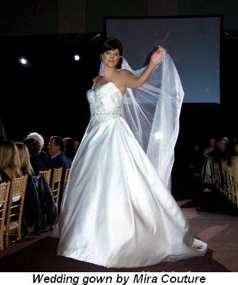 Blog 7 - Wedding gown by Mira Couture