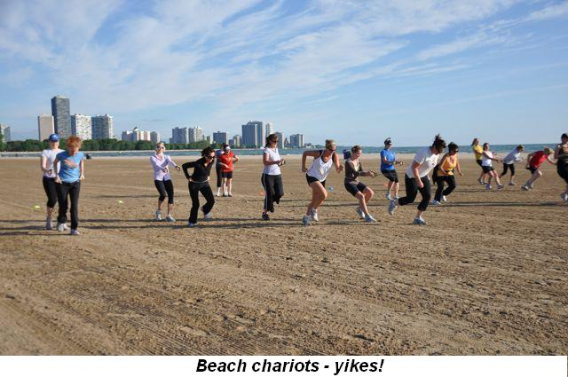 Blog 6 - Beach chariots, yikes!