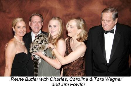Blog 1 - Reute, Charles, Caroline and Tara Wegner and Jim Fowler
