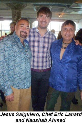 Blog 1 - Jesus Salguiero, Chef Eric Lanlard and Naushab Ahmed
