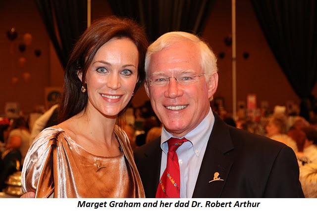 Blog 6 - Marget Graham and dad Dr. Robert Arthur
