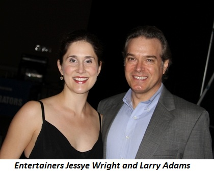 Blog 18 - Entertainers Jessye Wright and Larry Adams