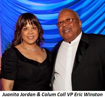 Blog 2 - Juanita Jordan and Columbia College VP Eric Winston