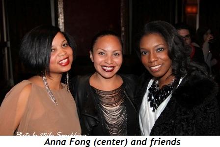 Blog 7 - Designer Anna Fong (center) and friends