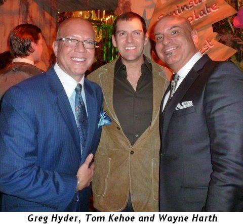 Blog 4 - Greg Hyder, Tom Kehoe (who donated décor)& Wayne Harth