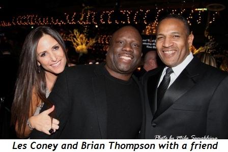 Blog 10 - Les Coney (M), Brian Thompson and friend