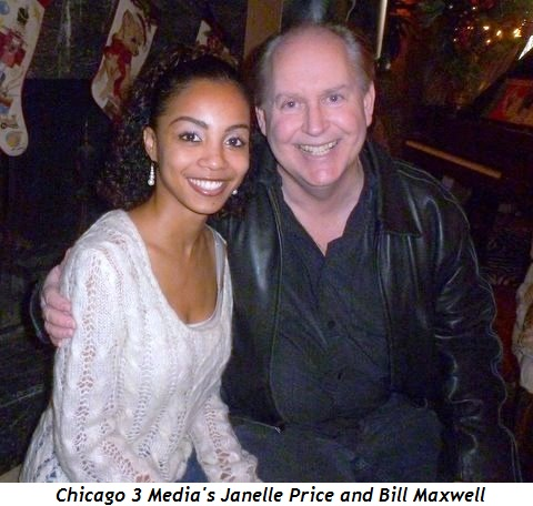 Chicago 3 Media's Janelle Price and Bill Maxwell