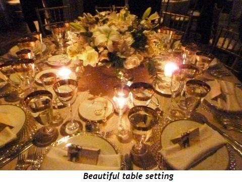 Blog 3 - Beautiful table setting