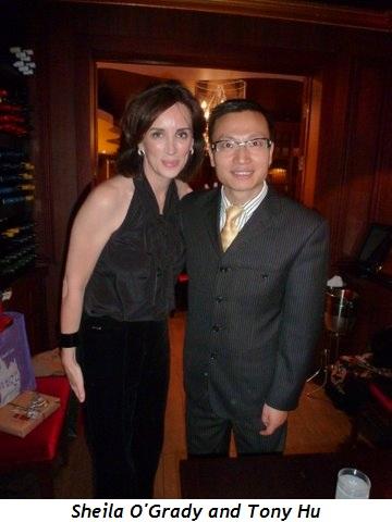 Blog 2 - Sheila O'Grady and Tony Hu