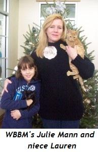Blog 4 - WBBM radio's Julie Mann and niece Lauren