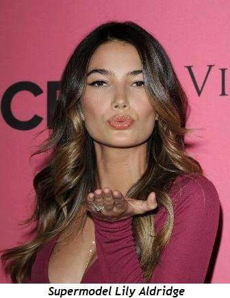 Blog 1 - Supermodel Lily Aldridge
