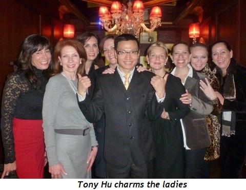 Blog 1 - Tony Hu charms the ladies