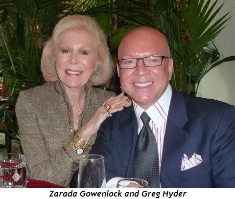 Blog 2 - Zarada Gowenlock and Greg Hyder