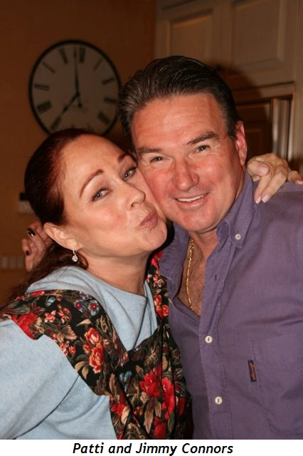 Blog 1 - Patti and Jimmy Connors