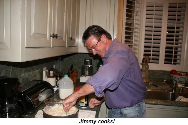 Blog 2 - He cooks!!!