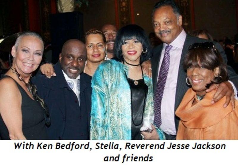 Blog 3 - With Ken Bedford, Stella, Reverend Jesse Jackson and friends