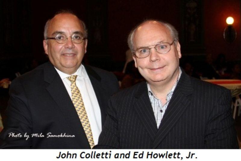 Blog 11 - John Colletti and Ed Howlett, Jr.