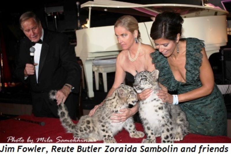 Blog 2 - Jim Fowler, Reute Butler, Zoraida Sambolin and friends