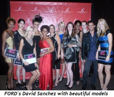 Blog 3 - FORD's David Sanchez with beautiful models