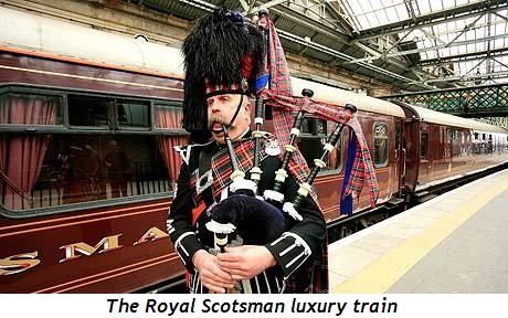 Blog 5 - The luxury train, the Royal Scotsman
