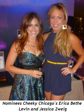 Blog 11 - Nominees Cheeky Chicago's Erica Bethe Levin and Jessica Zweig