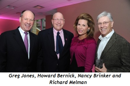 Blog 3 - Greg Jones, Howard Bernick, Nancy Brinker, Richard Melman