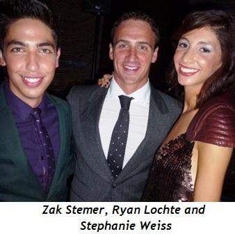 Blog 6 - Zak Stemer, Ryan Lochte, Stephanie Weiss