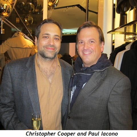 Christopher Cooper and Paul Iacono