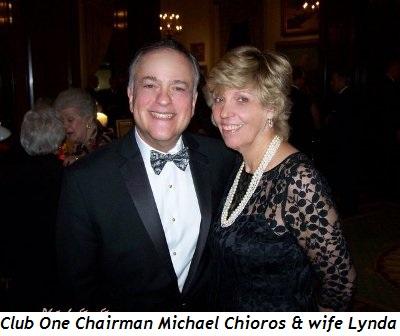 2 - Club One Chairman Michael Chioros and wife Lynda