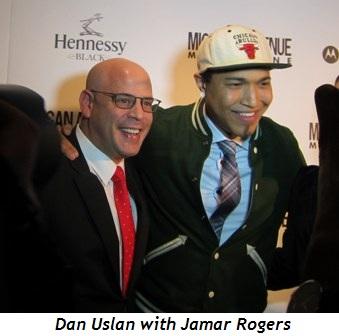 6 - Dan Uslan with Jamar Rogers
