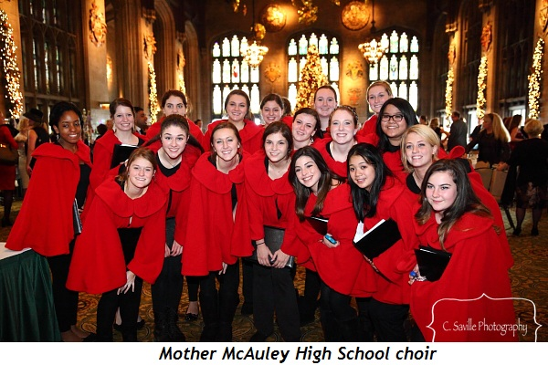 5 - Mother McAuley High School choir