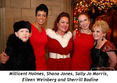 6 - Millicent Holmes, Shana Jones, Sally Jo Morris, Eileen Weinberg and Sherrill Bodine
