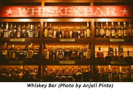 Whiskey Bar by Anjali Pinto