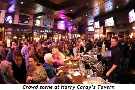 4 - Crowd scene at Harry Caray's Tavern
