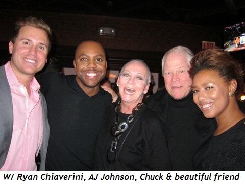 12 - With Ryan Chiaverini, AJ Johnson, Chuck and beautiful friend