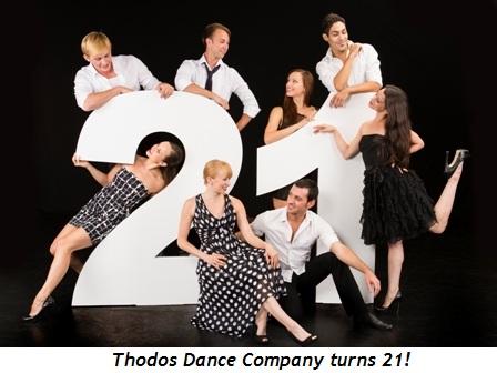 1 - Thodos Dance Company to celebrate 21st anniversary