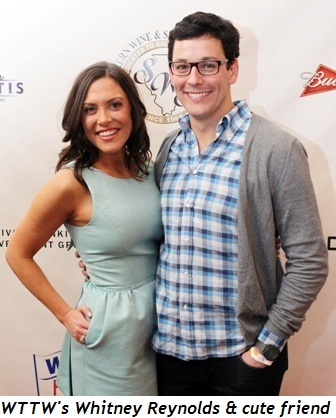 11 - WTTW's Whitney Reynolds and her cute fiancé
