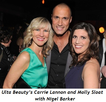 1 - Ulta Beauty's Carrie Lannon and Molly Sloat with Nigel Barker