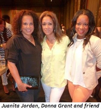 Blog 4 - Juanita Jordan, Donna Grant and friend