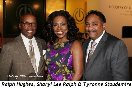 Blog 6 - Ralph Hughes, Sharyl Lee Ralph and Tyronne Stoudemire