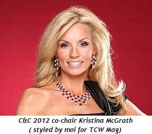 Blog 4 - C & C co-chair Kristina McGrath (styled by moi for TWC Mag)