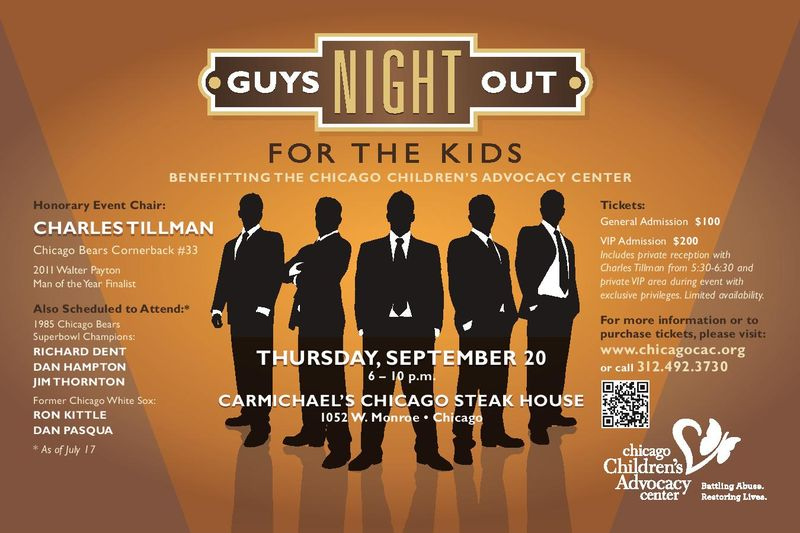 Guys Night Out invite