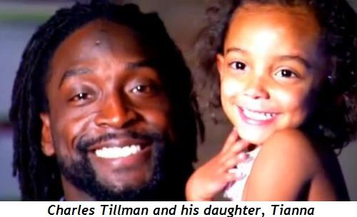 Charles Tillman and daughter Tianna