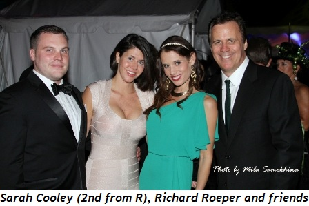 Blog 5 - Sarah Cooley (2nd from R), Richard Roeper and friends