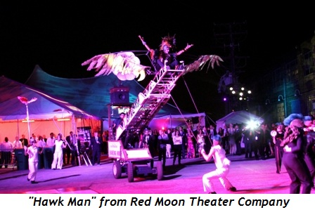 """Blog 21 - """"Hawk Man"""" from Red Moon Theater Company"""