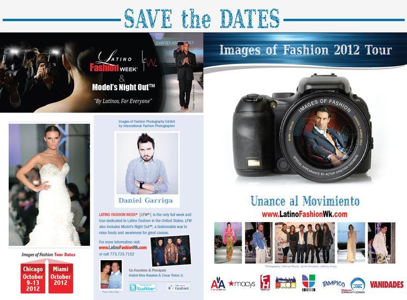 Latino Fashion Week Save the Date