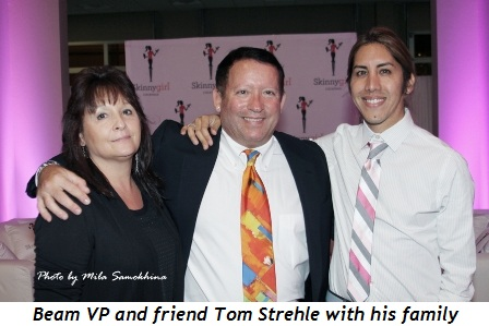 Blog 8 - Beam VP-friend Tom Strehle with his family